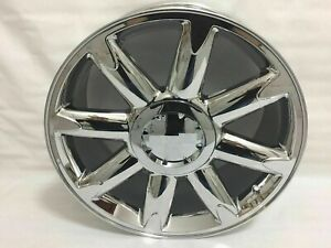 4pc 20 Pvd Chrome Rims Wheels For Gmc Yukon Sierra Denali 1500 Pickup