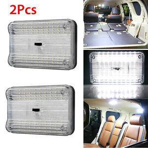 2pcs 12v 36 Led Car Vehicle Interior Dome Roof Ceiling Reading Trunk Lights Lamp