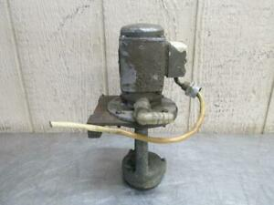 Kent Model Kls 1540 Lathe Coolant Pump Gir sin Db 12a th 3 17 Gpm