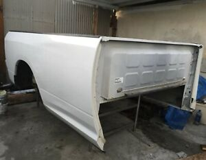 2009 2018 Dodge Ram 1500 2500 3500 8 Foot Truck Bed Box 8 White Color