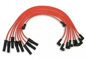 Mallory 612 Pro Wire Set 351c 460 Ford Red Plug Wires