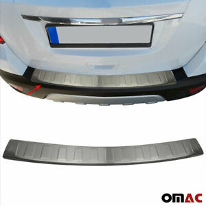 Chrome Rear Bumper Guard Trunk Sill Protector Brushed For Chevy Trax 2013 2020