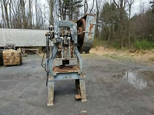 American Can Co No 4 1 2 Style E Mechanical Punch Press 220 1ph