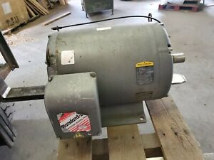 Baldor 75 Hp Electric Motor 3540 Rpm 4 P 230 460 V 365ts 3 Ph 60 Hz Cat M2549t