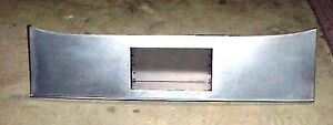 1928 1929 1930 1931 Model A Ford Sedan Rear Roll Pan With License Plate Recess