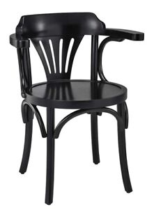 Home Office Desk Navy Chair Black Finish 30 7 Wooden Nautical Decor Furniture