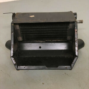Original Triumph Tr6 Smiths Partial Heater Box Assembly With Core Oem