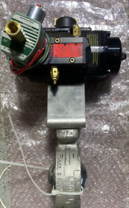 Matryx Actuator Valve With Tufline 3 Butterflyvale 801st2