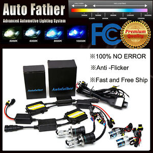 H1 H7 H11 9005 9006 55w No Error Anti Flicker Hid Lights Ac Canbus Fast Shipping