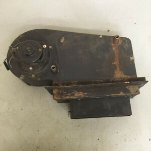 Original Mg Mgb Smiths Heater Box With Motor Fan And Core Oem