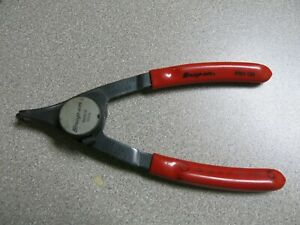 Snap On Tools 5 3 4 Red Convertible Retaining Snap Ring Pliers Prh129 Usa