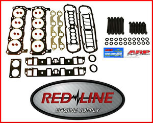Full Gasket Set W Arp Head Bolts For 85 95 Ford Sbf 302 5 0l V8 Car Truck Suv