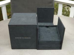 David Yurman Black Necklace Gift Box Mint Condition