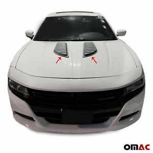 Decorative Air Flow Intake Scoop Bonnet Vent Hood For Dodge Charger Rt 2015 2019