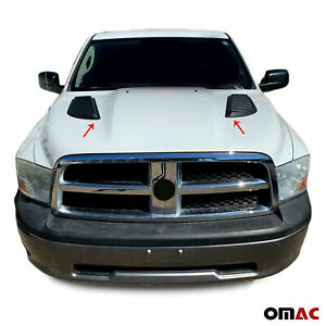 Air Flow Intake Scoop Bonnet Vent Hood For Dodge Ram 1500 2011 2019