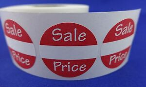 200 Sales Price Self adhesive Labels 1 Stickers Tags Retail Store Supplies