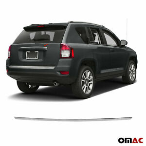 Chrome Grab Handle Cover Trunk Lid S steel Fits Jeep Compass 2016 2020