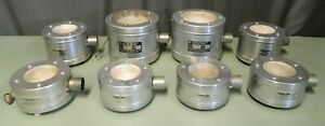 Lot Of 8 Glas col Round Aluminum 115v Heating Mantles Inc 2 Tm106 270w More