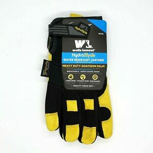 Wells Lamont Hydrahyde Water Resistant Breathable Leather Work Gloves X large
