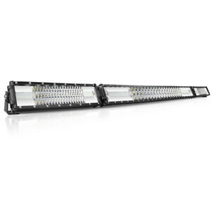 Led Light Bar 52 Inch Tri row Flood Spot Combo Super Bright Led Offroad 50 40