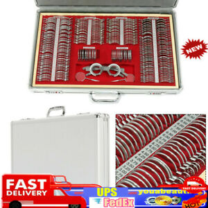 266pcs Set Optical Trial Lens Optometry Rim Case Kit W Test Trial Frame Stock