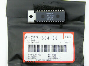Cx760d original Sony 24p Dip With Heat Sink Tab Ic 1 Pc