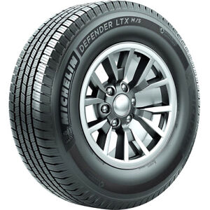 Michelin Defender Ltx M S Lt255 65r18 E 10 Ply Light Truck Tire