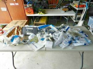 Large Lot Of Ford Parts Vintage New Flea Market Inventory