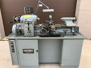1976 Metric Hardinge Hlv h Super Precision Tool Room Lathe Hlvh Hlv Feeler Sharp