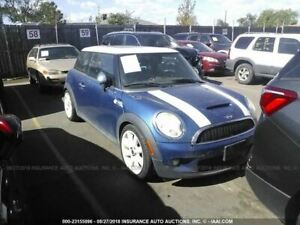 Wheel Coupe 17x7 Alloy 8 Spoke White Fits 07 14 Mini Cooper 775572