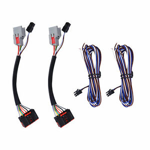 2x Wiring Harness Adapter 8pin 22pin Tow Mirrors Adapter Fit For Ford F150 15 18