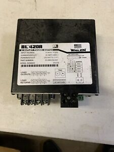 Whelen Bl420a 4 Outlet Power Switch 20amps
