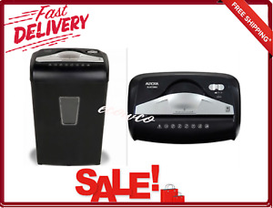 8 Sheet Micro Cut Paper Shredder High Security Led Indicator Auto Start stop New