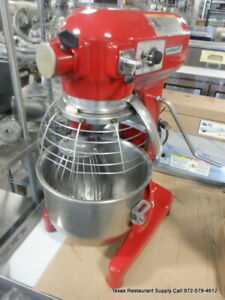 Hobart A200 20 Qt Dough Mixer With Guard Bowl And Whip