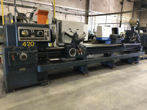 Lodge Shipley Geared Head Lathe