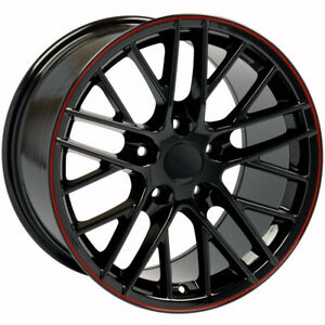 Black Wheel 18x8 5 For 1993 2002 Chevy Camaro Owh3605