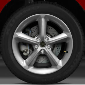 18x8 Factory Wheel fine Bright Silver Full Face For 2009 2010 Saturn Sky