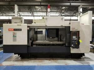 2005 Mazak V 655 80n Cnc Vertical Machining Center With Apc