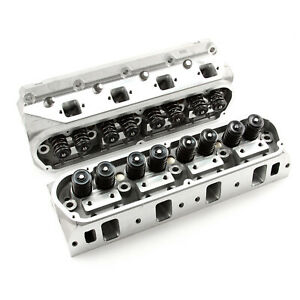 Complete Aluminum Cylinder Heads Sbf Fits Ford Gt40 289 302 351w 175cc 62cc