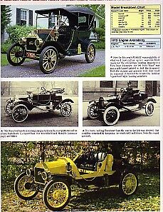 1912 Ford Model T Article Must See Over Sized Thick Glossy Pages