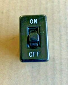 Leviton Black Snap in Vintage Single Convenience Toggle Switch 714 On off New