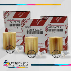 Toyota Oil Filter 04152 Yzza1 Pack Of 3 Same Day Shipping