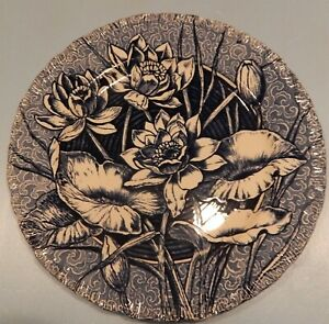 English Aesthetic Transfer Plate By Wedgwood