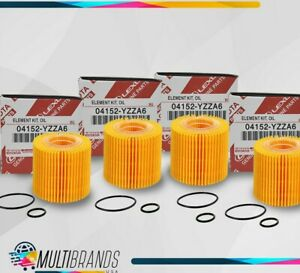 Toyota Oil Filter 04152 yzza6 Pack Of 4 Same Day Shipping