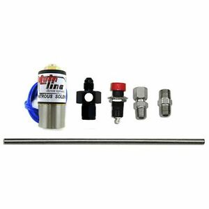 Nitrous Express Ml15601 Mainline Purge Valve System Kit With 6 An Manifold