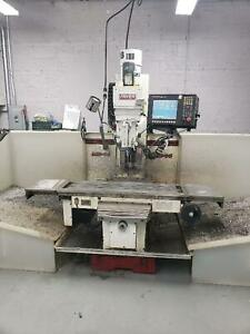 Fryer Toolroom Bed Mill Model Mb 14q 3 Axis Cnc Vertical Milling Machine 2007