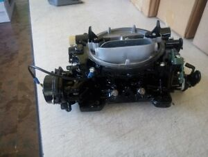 Marine Carter Afb Rebuilt Carburetor 750 Cfm With Live Testing 9781s