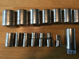 Craftsman 1 2 Drive Socket Set Used