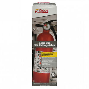 Kidde 1a10bc Basic Use Fire Extinguisher 2 5 Lbs 6 Pack
