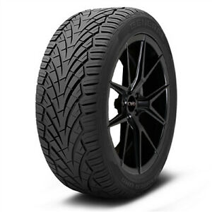 2 new 255 65r16 General Grabber Uhp 109h B 4 Ply Bsw Tires
